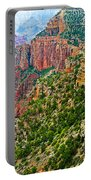View Six From Walhalla Overlook On North Rim Of Grand Canyon-arizona Portable Battery Charger