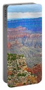View Three From Walhalla Overlook On North Rim Of Grand Canyon-arizona  Portable Battery Charger