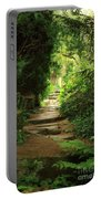 View To The Secret Garden Portable Battery Charger