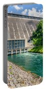 Views Of Man Made Dam At Lake Fontana Great Smoky Mountains Nc Portable Battery Charger