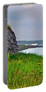 Viking House On Fishing  Point In Saint Anthony-nl Portable Battery Charger