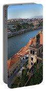 Vila Nova De Gaia And Porto In Portugal Portable Battery Charger