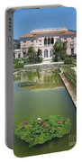 Villa Ephrussi De Rothschild With Reflection Portable Battery Charger