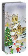 Village Festivities Portable Battery Charger