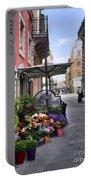 Village Flowershop Portable Battery Charger