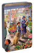 Village Greengrocer  Portable Battery Charger