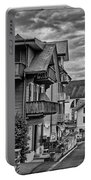 Village Image B/w Portable Battery Charger