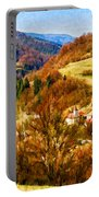 Village In The Valley Portable Battery Charger