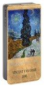 Vincent Van Gogh 4 Portable Battery Charger