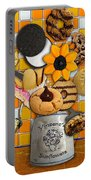 Vincent's Sunflower Cookie Jar Portable Battery Charger