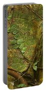 Vine On Tree Bark Portable Battery Charger