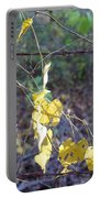 Vines On The Fence Portable Battery Charger