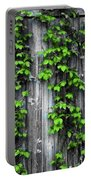 Vines On The Side Of A Barn Portable Battery Charger