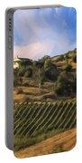 Vineyard Near Avila Beach Portable Battery Charger