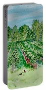 Vineyard Of Ontario Canada 1 Portable Battery Charger