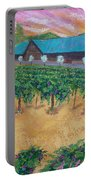 Vineyard Sunset Portable Battery Charger