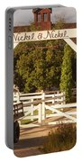 Vineyard Trucking Portable Battery Charger by Holly Blunkall