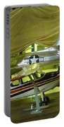 Vintage Airplanes Display Portable Battery Charger