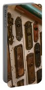Vintage And Antique Door Knob And Lock Plates Portable Battery Charger