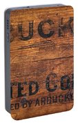 Vintage Arbuckles Roasted Coffee Sign Portable Battery Charger