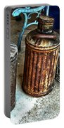 Hdr Vintage Art  Cans And Bottles Portable Battery Charger