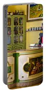 Vintage Bar - Hotel Subasio - Assisi Italy Portable Battery Charger