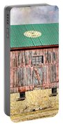 Vintage Barn - Wood And Stone Portable Battery Charger