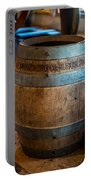 Vintage Barrel Portable Battery Charger