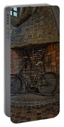 Vintage Bicycle Portable Battery Charger by Susan Candelario
