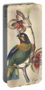 Vintage Bird Study-g Portable Battery Charger