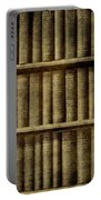 Vintage Books Portable Battery Charger