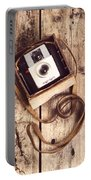 Vintage Camera Portable Battery Charger