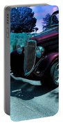 Vintage Ford Car Art II Portable Battery Charger