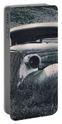 Vintage Car At Bodie Portable Battery Charger by Kelley King