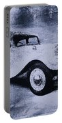 Vintage Car Portable Battery Charger by David Ridley
