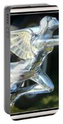 Goddess Of Speed Packard Hood Ornament  Portable Battery Charger