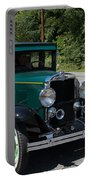Vintage Cars Green Chevrolet Portable Battery Charger