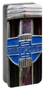 Vintage Chevrolet Grille Emblem Portable Battery Charger