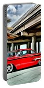 Vintage Chevy Impala Portable Battery Charger