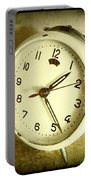 Vintage Clock Portable Battery Charger