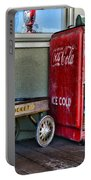 Vintage Coca-cola And Rocket Wagon Portable Battery Charger
