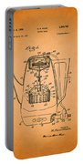 Vintage Coffee Maker Patent 1958 Portable Battery Charger