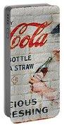 Vintage Coke Sign Portable Battery Charger
