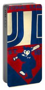 Vintage Cubs Spring Training Sign Portable Battery Charger