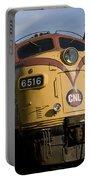 Vintage Diesel Locomotive Portable Battery Charger
