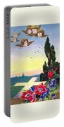 Vintage Easter Card Portable Battery Charger
