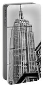 Vintage Empire State Building Portable Battery Charger