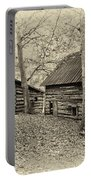Vintage Farm Buildings Portable Battery Charger
