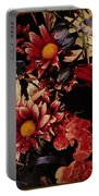 Vintage Floral Beauty  Portable Battery Charger