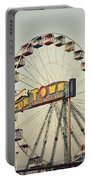 Vintage Funtown Ferris Wheel Portable Battery Charger